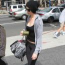 Charlize Theron Heading To Pilates Class
