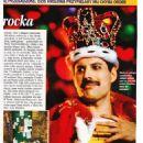Freddie Mercury - Dworskie Zycie Magazine Pictorial [Poland] (October 2018) - 454 x 642