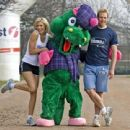 Nell McAndrew - Monster Loch Ness Challenge 2008