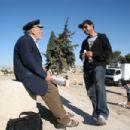 Nadim Sawalha with director/writer Amin Matalqa in NeoClassics Films' Captain Abu Raed. - 454 x 302