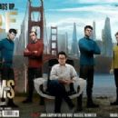 Zachary Quinto, Chris Pine, Benedict Cumberbatch, Anton Yelchin, Alice Eve, Zoe Saldana, Simon Pegg, J.J. Abrams, John Cho, Karl Urban - Empire Magazine Pictorial [United Kingdom] (May 2013) - 454 x 209