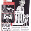 Orson Welles - Yours Retro Magazine Pictorial [United Kingdom] (4 June 2018) - 454 x 642