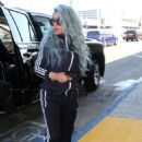 Blac Chyna at LAX Airport in Los Angeles, California - September 2, 2017 - 454 x 649