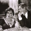 Lionel Barrymore and Gloria Swanson