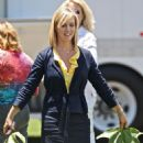 "Jennie Garth On The Set Of ""90210: The Next Generation"" 2008-07-01"