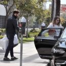 Mandy Moore with her fiancee out in Los Angeles - 454 x 368