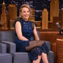 Rachel McAdams Visits 'The Tonight Show Starring Jimmy Fallon' (July 2015) - 399 x 600