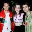 Jared Leto, Lisa Kennedy Montgomery and Dweezil Zappa - 454 x 301