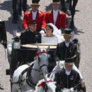 Prince Harry Marries Ms. Meghan Markle - Procession - 416 x 600