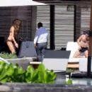 Kate Beckinsale in Brown Bikini in Los Cabos
