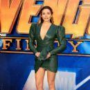 Elizabeth Olsen – 'Avengers: Infinity War' Fan Preview in London