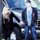 Avril Lavigne - Leaving Photoshoot Session In Los Angeles, November 30 2009
