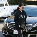 Selena Gomez in Black Outfit – Out in Los Angeles