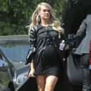 Carrie Underwood in Black Mini Dress – Out in Los Angeles - 454 x 681