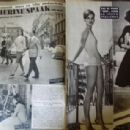 Catherine Spaak - Cine Tele Revue Magazine Pictorial [France] (6 May 1960) - 454 x 308