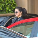Selena Gomez Arriving At The Montage Hotel In Beverly Hills