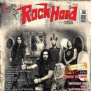 jared macEachern, Robb Flynn, Phil Demmel (musician), Dave McClain (drummer) - Rock Hard Magazine Cover [Italy] (December 2014)
