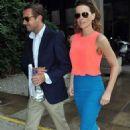 Kate Beckinsale departing the Merrion Hotel in Dublin, Ireland (August 14)