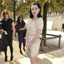 Dita Von Teese - Arrives At The Christian Dior PFW Spring/Summer 2008 Show In Paris, France, 29.09.2008.