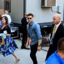Jensen Ackles- July 20, 2017- Outside Omni Hotel - 450 x 600