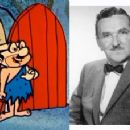 Howard McNear and the Dr he played on The Flintstones - 320 x 228