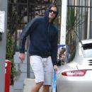 Alexander Skarsgard-February 7, 2014-Alexander Skarsgard Pumps Gas in LA