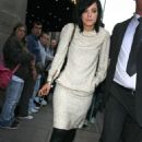 Lily Allen - Leaving The Grosvenor Hotel In Central London, 2009-10-26