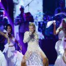 Fanny Lu- 'Premios Tu Mundo' Awards 2015- The Show - 399 x 600