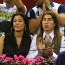 Sergio Ramos and Elisabeth Reyes