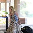 Ashley Tisdale's Windy Aloha State Departure