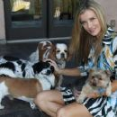 Joanna Krupa With Her Dogs out in Los Angeles - 454 x 361