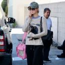 Paris Hilton with her dog in Beverly Hills - 454 x 681