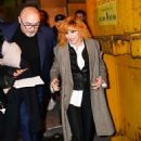 Mylene Farmer – Leaves Jean-Paul Gaultier Show in Paris - 454 x 681
