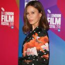 Rhona Mitra – 'The Fight' Premiere at 62nd BFI London Film Festival - 454 x 661