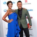 Karla Birbragher and Jorge Bernal- Arrivals at Telemundo's Premios Tu Mundo Awards 2013 - 395 x 594