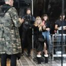 Heidi Klum – Costume Unfold on Amazon Display Window in New York