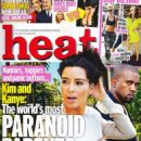 Kim Kardashian West - Heat Magazine Cover [United Kingdom] (6 July 2013)