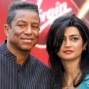 Jermaine Jackson and Halima Rashid