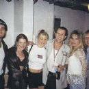 Erik Turner with wife Kirsten, C.C. Deville with Indiana and Jerry Dixon with wife Susan Ashley