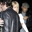 Paris Hilton Late Night At The Villa Lounge In Beverly Hills 2007-12-17
