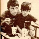 Richard with his son Gary