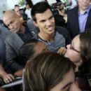 Taylor at the Breaking Dawn Part 2 Fan Event in Brazil