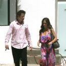 Jennifer Love Hewitt - Leaves The Home Of Jamie Kennedy, July 16 2009