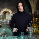 "ALAN RICKMAN as Severus Snape in Warner Bros. Pictures' fantasy 'Harry Potter and the Order of the Phoenix."" Photo by Murray Close. TM & © 2007 Warner Bros. Entertainment Inc. All rights reserved."