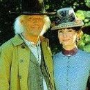 Mary Steenburgen and Christopher Lloyd