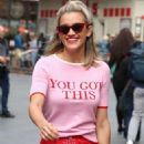 Ashley Roberts – Leaving Heart radio studios in London - 454 x 681