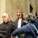 Gigi Hadid – Walks out of Manhattan Criminal Court in New York
