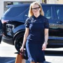 Reese Witherspoon – Out in black framed glasses in Brentwood
