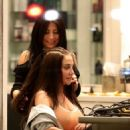 Tulisa Contostavlos at Blown USA Salon in Beverly Hills - 454 x 681