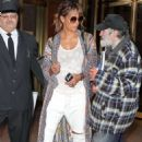 Halle Berry – Heading to the airport in New York City